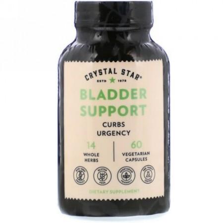 Crystal Star, Bladder Support, 60 Vegetarian Capsules