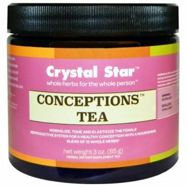 Crystal Star, 妊娠茶, 3オンス(85 g) (Discontinued Item)