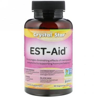 Crystal Star, EST-Aid、 90ベジタリアンカプセル (Discontinued Item)