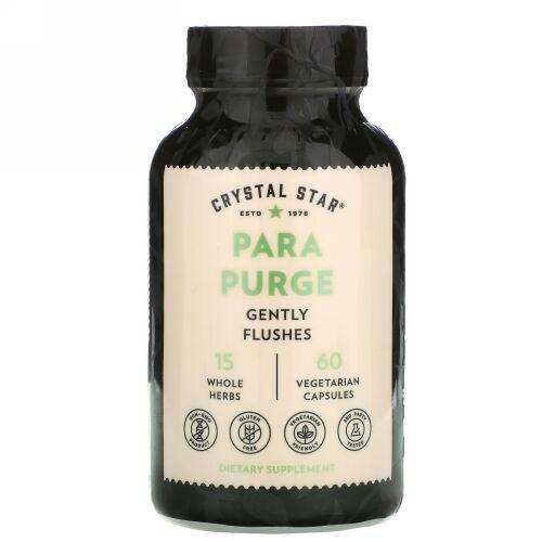 Crystal Star, Para Purge、植物性カプセル60粒