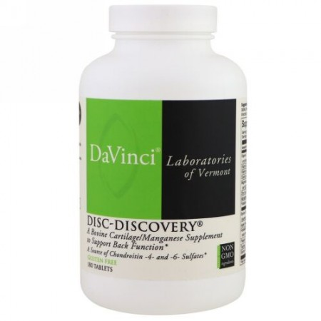 DaVinci Laboratories of Vermont, Disc-Discovery、タブレット 180 錠 (Discontinued Item)