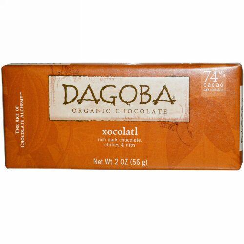 Dagoba Organic Chocolate, ホコラートル、 2 oz (56 g) (Discontinued Item)