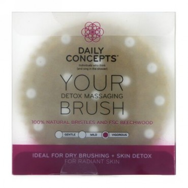 Daily Concepts, Your Detox Massaging Brush, Vigorous, 1 Brush (Discontinued Item)