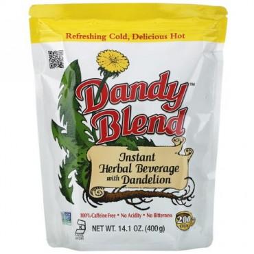 Dandy Blend, インスタント・ハーバル飲料 タンポポ入り、カフェインフリー、14.1 oz (400 g)