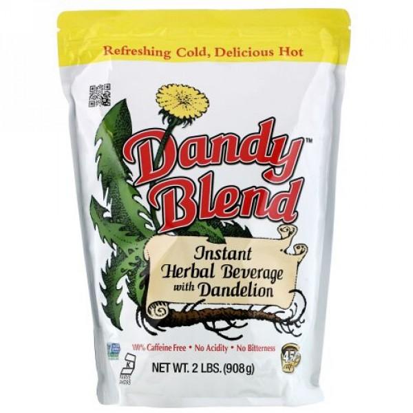 Dandy Blend, タンポポ入りインスタントハーブドリンク, カフェインフリー, 2 ポンド (908 g)