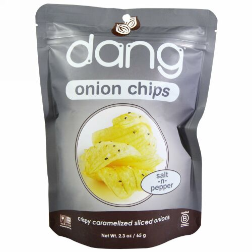 Dang, オニオンチップス、 ソルト・ペッパー、 2.3 oz (65 g) (Discontinued Item)