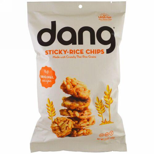Dang, スティッキーライスチップス、オリジナルレシピ、3.5 oz (100 g) (Discontinued Item)