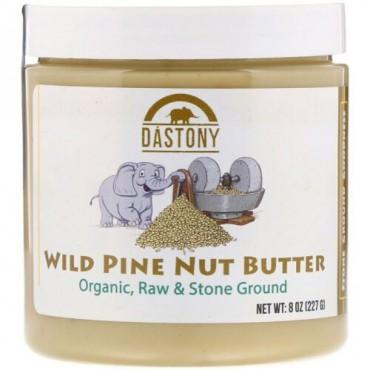 Dastony, ワイルドパインナッツバター、8オンス (227 g) (Discontinued Item)