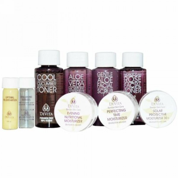 DeVita, Try-Me Kit!, Anti-Aging Solution, 9 Piece Kit (Discontinued Item)