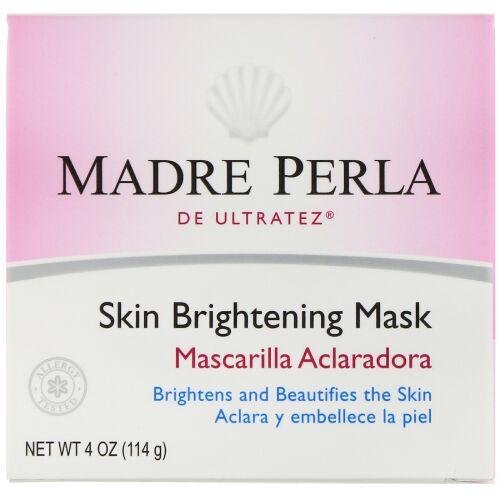 De La Cruz, Madre Perla、スキンブライトニングマスク、4オンス(114 g)