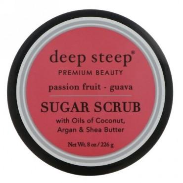 Deep Steep, シュガースクラブ、 パッションフルーツグアバ、 8オンス (226 g)
