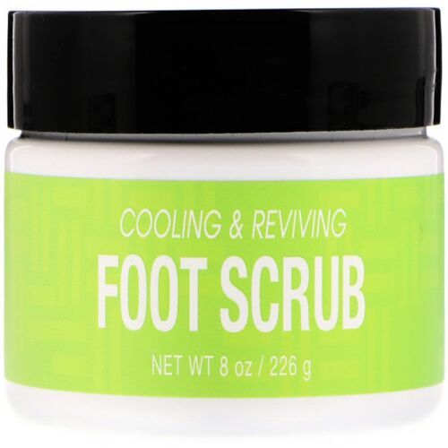 Deep Steep, Therapeutic Foot Scrub, Candy Mint, 8 oz (226 g) (Discontinued Item)