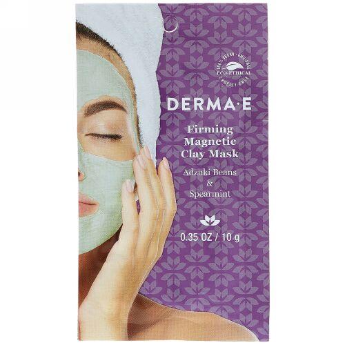 Derma E, ファーミングマグネティッククレイマスク、小豆 &スペアミント、0.35オンス ( 10 g) (Discontinued Item)