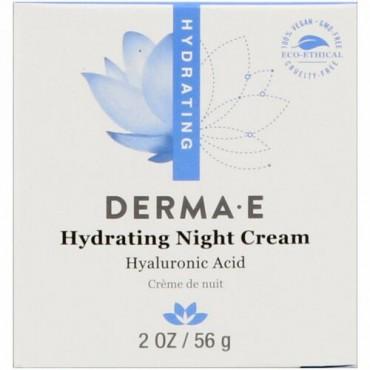 Derma E, 保湿ナイトクリーム、2オンス(56 g)