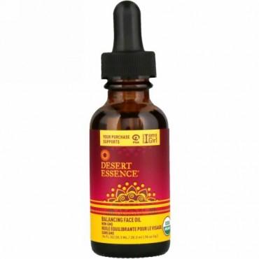 Desert Essence, Balancing Face Oil,  .96 fl oz (28.3 ml) (Discontinued Item)