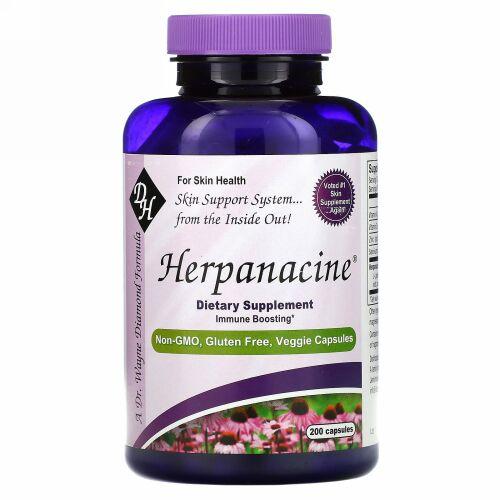 Diamond Herpanacine Associates, Herpanacine、カプセル 200錠