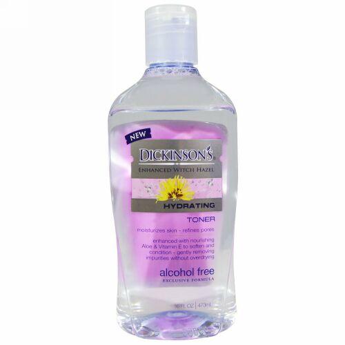 Dickinson Brands, 強化されたマンサク、 保湿化粧水、 アルコールフリー、 16 液量オンス (473 ml)
