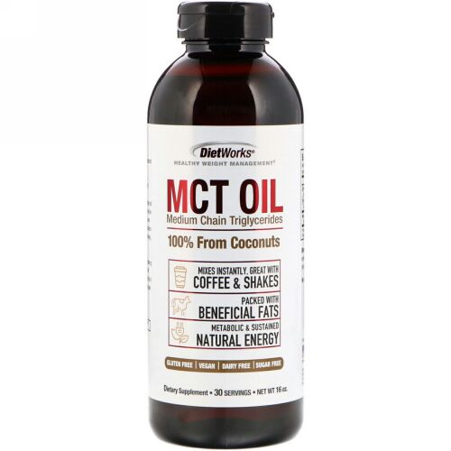 DietWorks, MCT Oil, 16 oz (Discontinued Item)