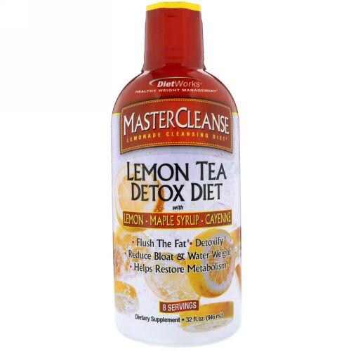 DietWorks, Master Cleanse, Lemon Tea Detox Diet, 32 fl oz (946 ml) (Discontinued Item)