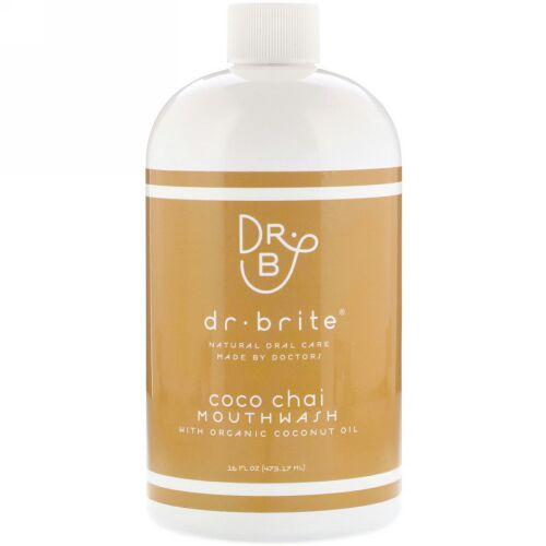 Dr. Brite, Mouthwash with Organic Coconut Oil, Coco Chai , 16 fl oz (473.17 ml) (Discontinued Item)