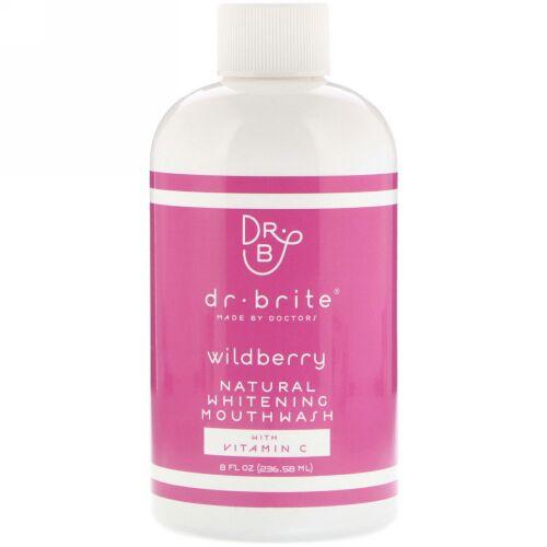 Dr. Brite, Natural Whitening Mouthwash with Vitamin C, Wildberry, 8 fl oz (236.58 ml) (Discontinued Item)