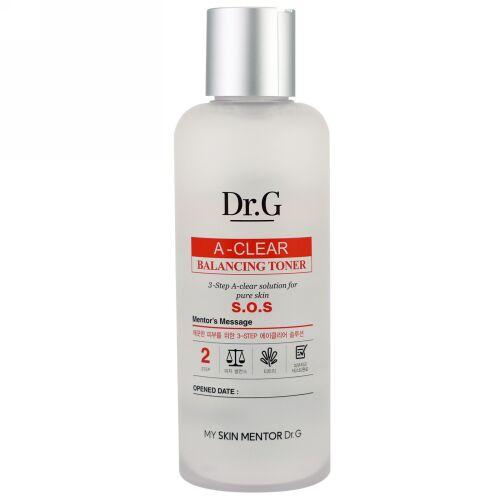 Dr. G, A-クリア、バランシング・トーナー、5.74 fl oz (170 ml) (Discontinued Item)