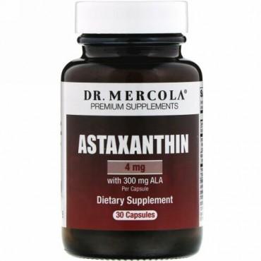 Dr. Mercola, アスタキサンチン(Astaxanthin), 30カプセル