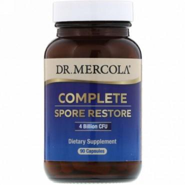 Dr. Mercola, コンプリートスポアレストア、40億CFU、90粒