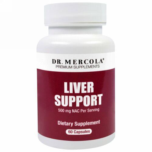 Dr. Mercola, 肝臓サポート, 60錠