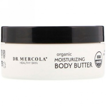 Dr. Mercola, Organic Moisturizing Body Butter, Unscented, 4 oz (113 g) (Discontinued Item)