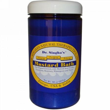 Dr. Singha's, マスタードバス、32 oz (907g) (Discontinued Item)