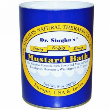 Dr. Singha's, マスタードバス、8 oz (227 g)