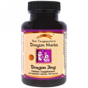 Dragon Herbs, ドラゴン・ジン、500 mg、ベジキャップ 100錠 (Discontinued Item)