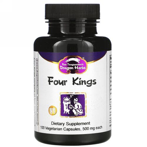 Dragon Herbs, フォーキングス, 各 500 mg, 100 ベジタリアンカプセル (Discontinued Item)