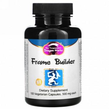 Dragon Herbs, フレームビルダー, 500 mg, 100 ベジタリアンカプセル