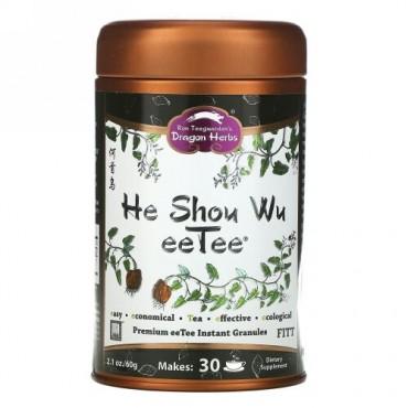 Dragon Herbs, He Shou Wu eeTee、2.1 オンス (60 g) (Discontinued Item)