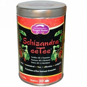 Dragon Herbs, Schizandra eeTee™, プレミアム eeTee インスタント顆粒, 2.1 オンス (60 g) (Discontinued Item)