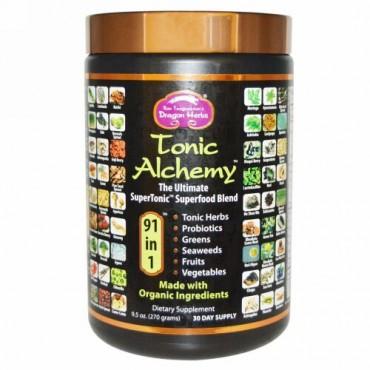 Dragon Herbs, Tonic Alchemy、アルティメート・スーパーフードブレンド、 9.5 オンス (270 g)