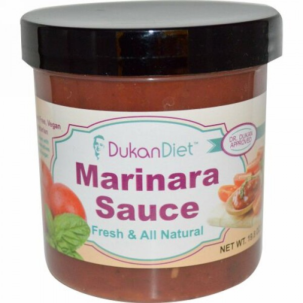 Dukan Diet, マリナーラソース、 19.8オンス (561 g) (Discontinued Item)