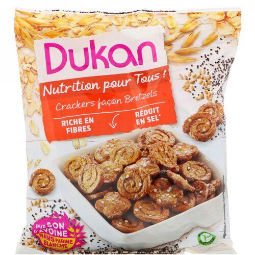 Dukan Diet, オートブランプレッツェル、3.5オンス(100 g) (Discontinued Item)