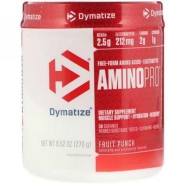 Dymatize Nutrition, アミノプロ、フルーツパンチ、9.52 oz (270 g) (Discontinued Item)