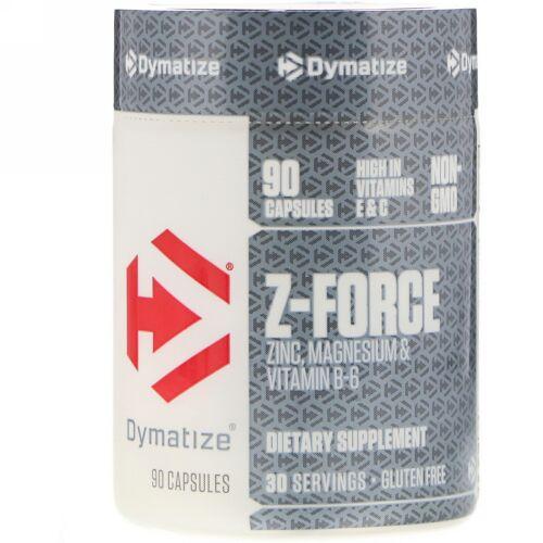 Dymatize Nutrition, Z-フォース、カプセル90粒 (Discontinued Item)