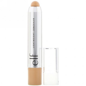 E.L.F., Beautifully Bare, Lightweight Concealer Stick, Light/Medium, 0.11 oz (3.3 g) (Discontinued Item)