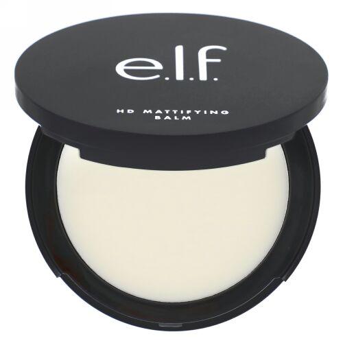 E.L.F., HDマティファイング バーム, クリア, 0.32 oz (9 g) (Discontinued Item)