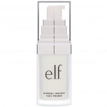 E.L.F., ミネラルが注入されているファイスプライマー, クリア, 0.49 oz (14 g)