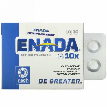 ENADA, 10×、10mg、トローチ30粒