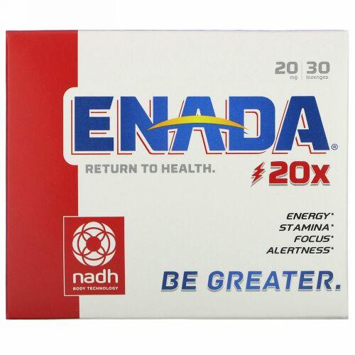 ENADA, 20x, 20 mg, 30 Lozenges