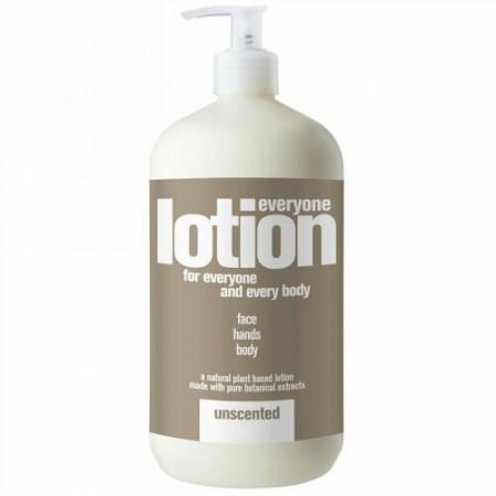 EO Products, エブリワンローション、無香料、32 fl oz (960 ml) (Discontinued Item)