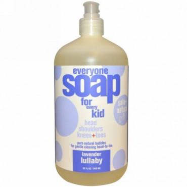 EO Products, エブリワンソープ・フォー・エブリキッド(子供用ソープ)、ラベンダーララバイ、32 液量オンス (960 ml) (Discontinued Item)