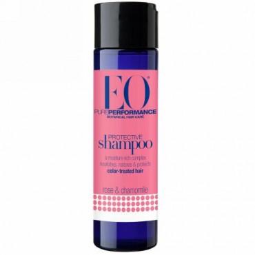 EO Products, 保護シャンプー, ローズ&カモミール, 8.4液量オンス(248 ml) (Discontinued Item)